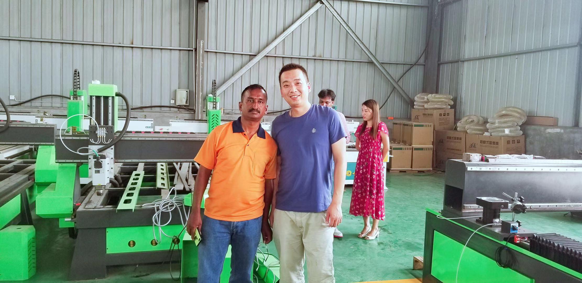 27, Hulyo, 2019, ang mga customer sa India ay dumating sa aming pabrika