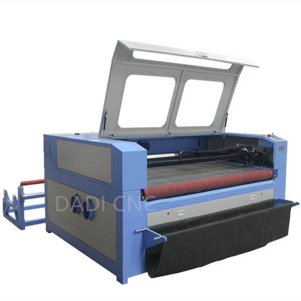 Fabric Auto Feeding Laser Cutting Machine DA1610F Featured Image