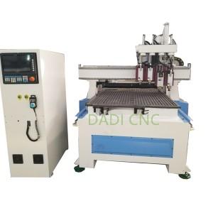 Máquina de corte e perforación CNC para a madeira T4